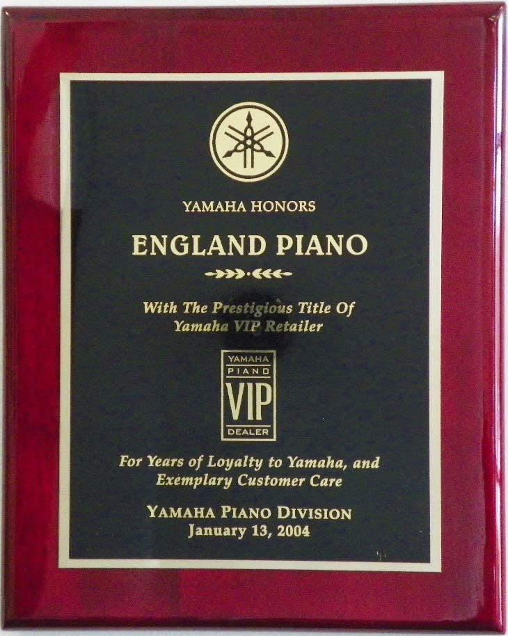 Yamaha Piano Award England Piano 2004 | England Piano