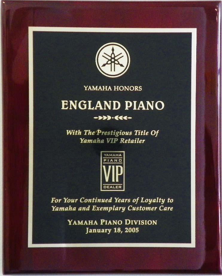 Yamaha Piano Award England Piano 2005 | England Piano