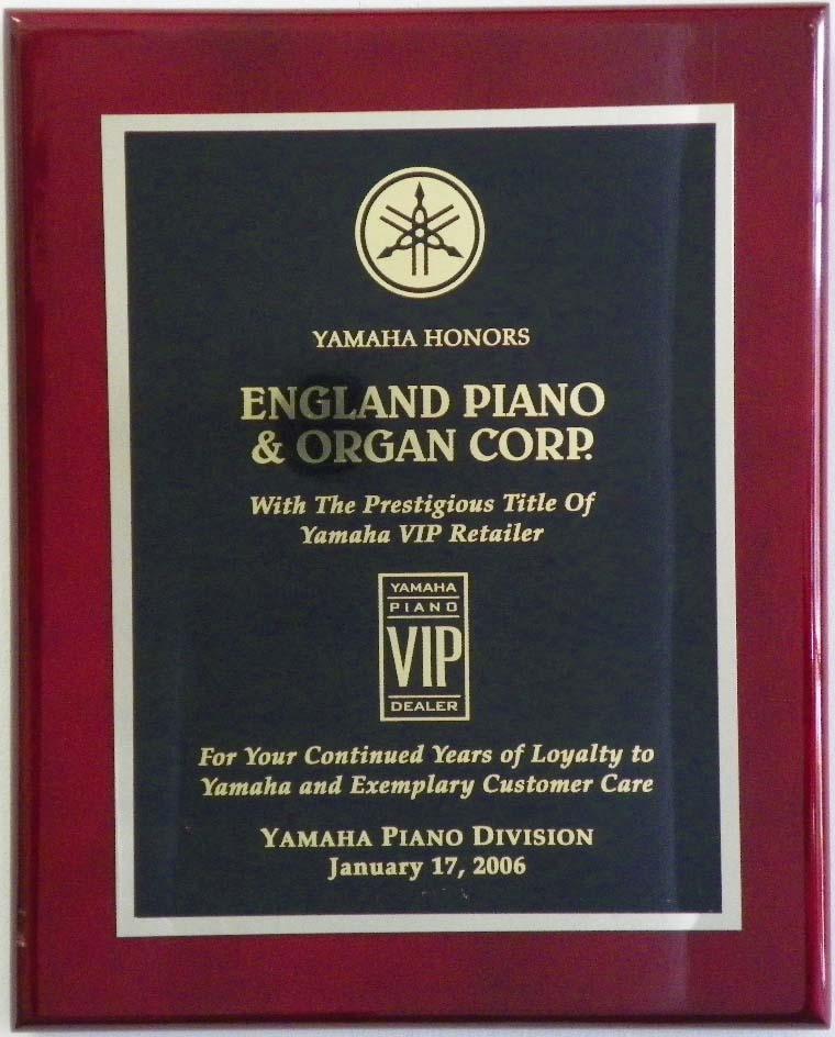 Yamaha Piano Award England Piano 2006 | England Piano