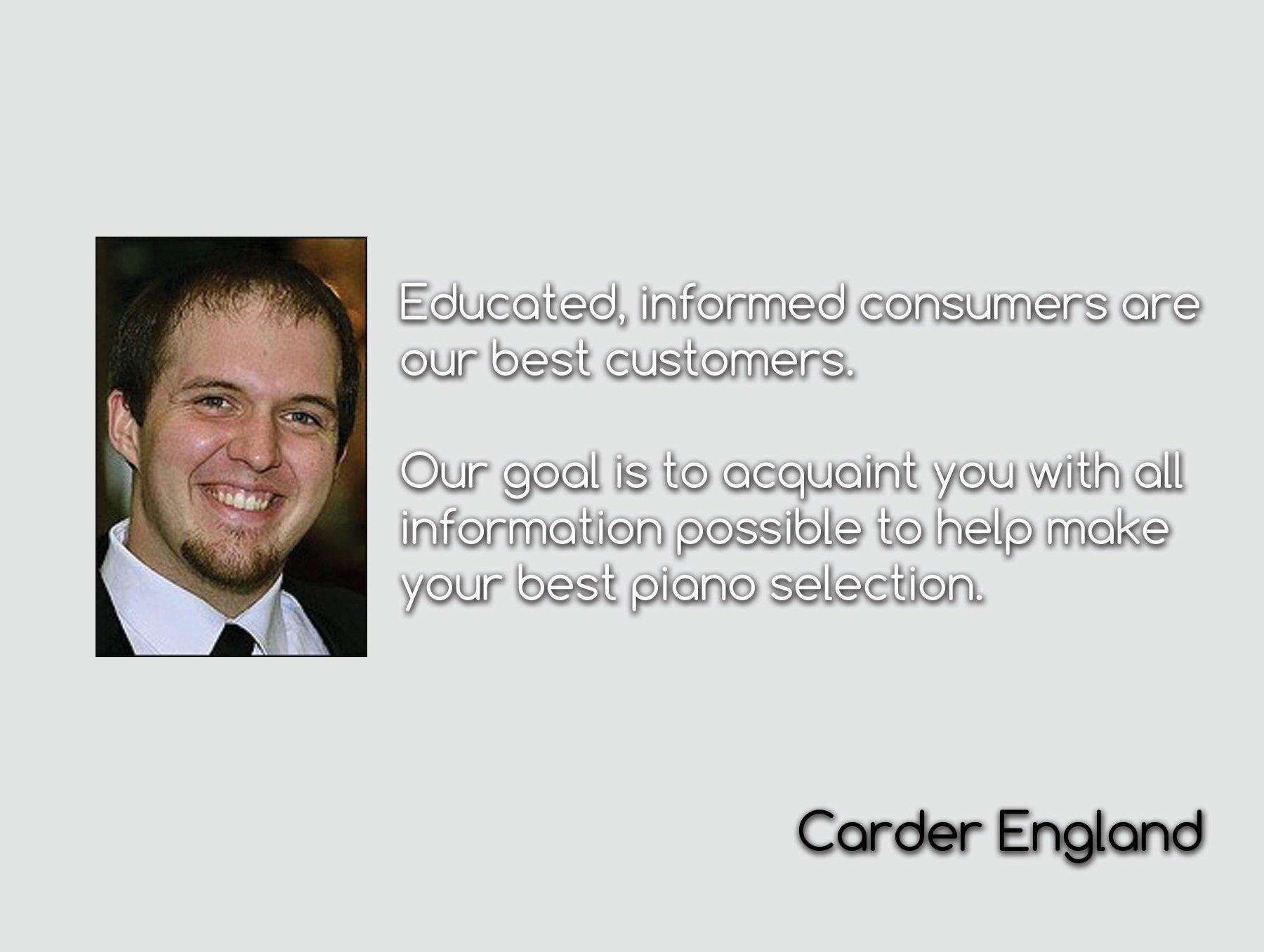 Carder England | England Piano