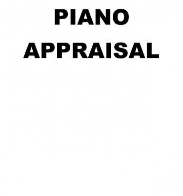 PIANO APPRAISAL