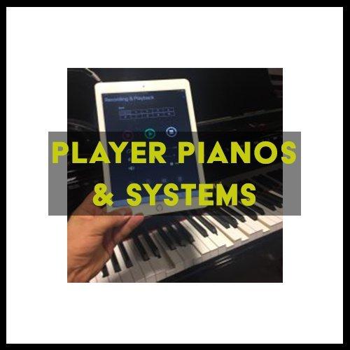 Player/Recording System Pianos | England Piano